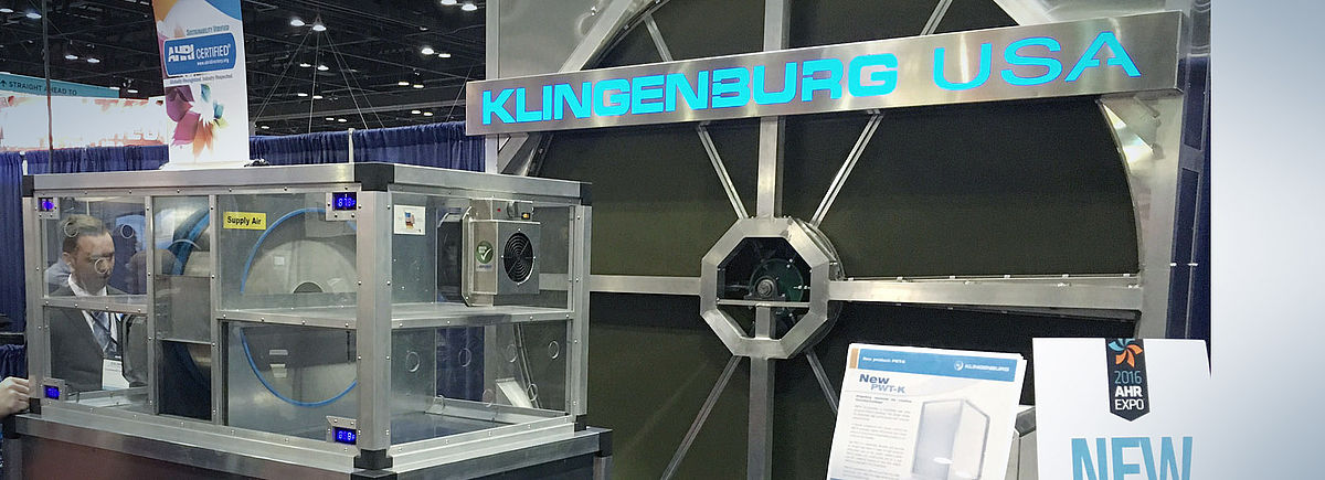 Klingenburg-USA at the AHR 2016